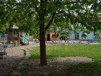 Garten der Kindergartenkinder